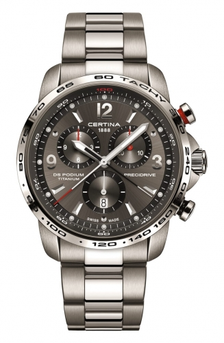 Certina DS Podium Big Chrono Titanium C001.647.44.087.00